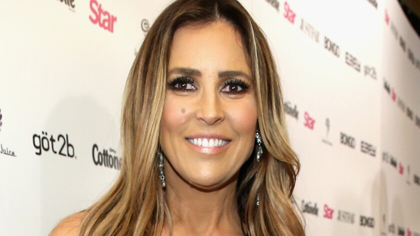 Witness Jillian Barberie's intact face, above. She received 10 stitches after a dog bit her lip over the weekend.