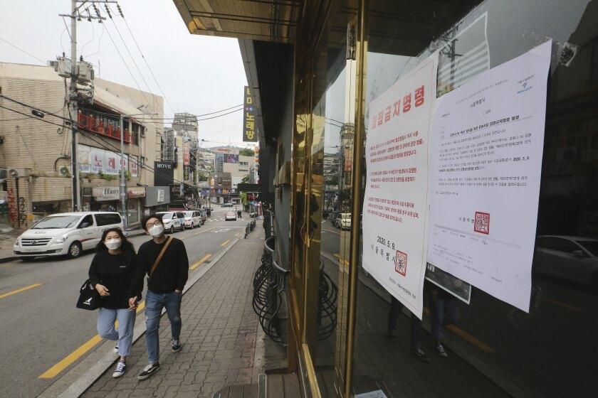 Virus Outbreak South Korea Homophobia