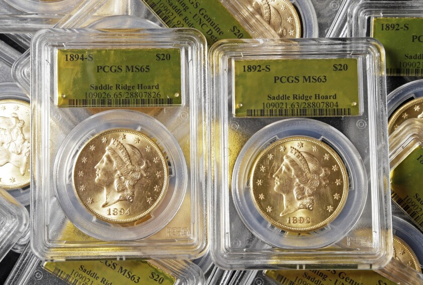 California gold coin find spurs no credible claims, expert