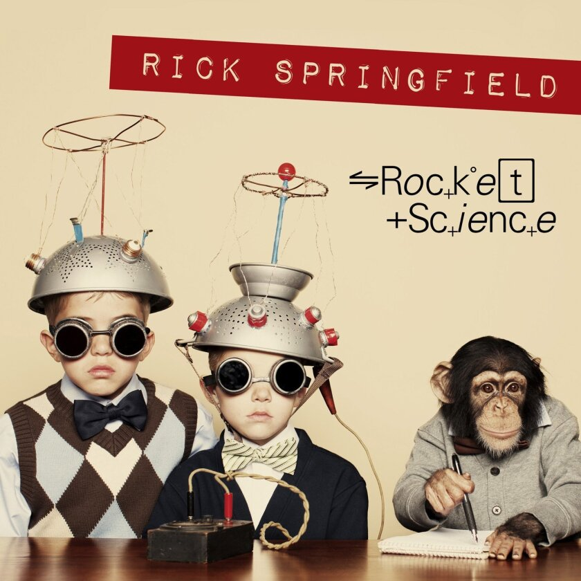 """This CD cover image released by Frontiers Records shows """"Rocket Science,"""" a new release by Rick Springfield. (Frontiers Records via AP)"""