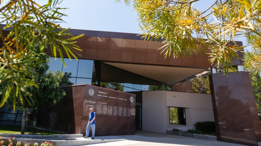 Toastmasters International plans to sell its headquarters building in Rancho Santa Margarita when it moves to Denver.
