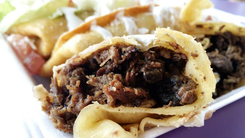 The chimichanga at El Gran Burrito
