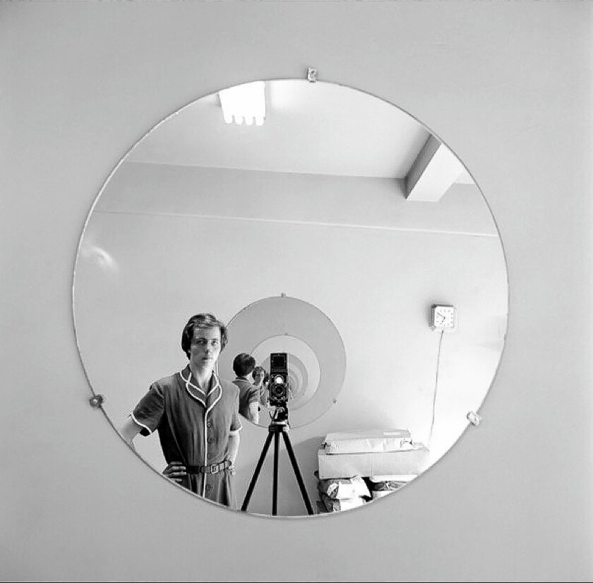 """A self-photo of Vivian Maier from the documentary """"Finding Vivian Maier."""""""