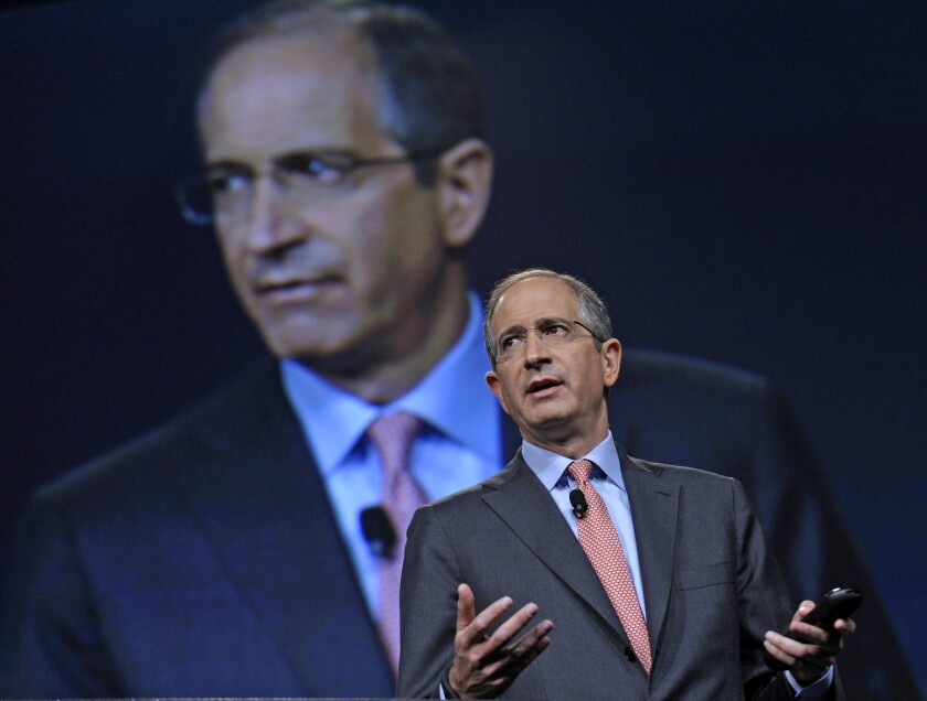 Comcast Chief Executive Brian Roberts, shown in 2013, who controls 33% of his company's voting shares, was among the 99% of Comcast stockholders who voted in favor of the acquisition of Time Warner Cable.