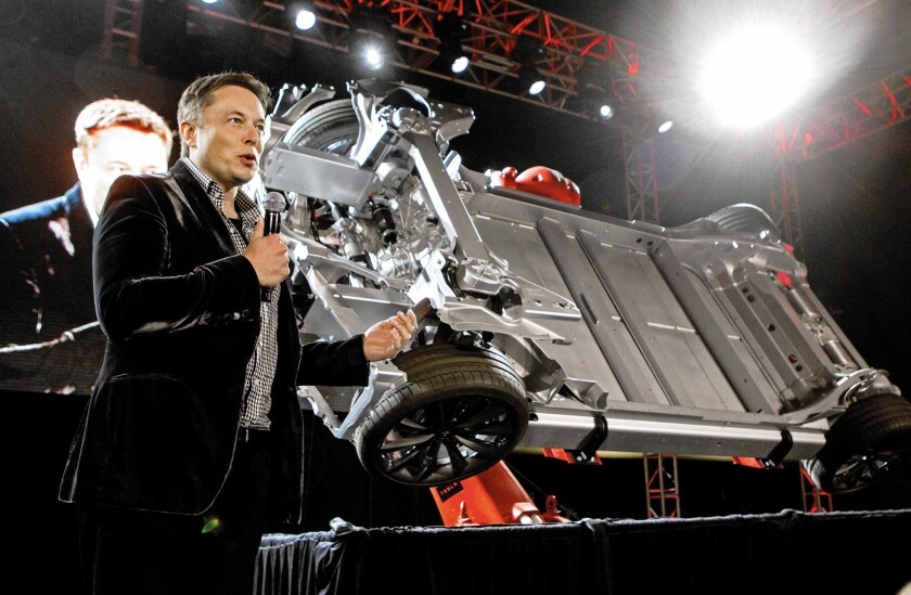 Tesla Motors, led by Elon Musk, says it will sell $2 billion worth of its stock.