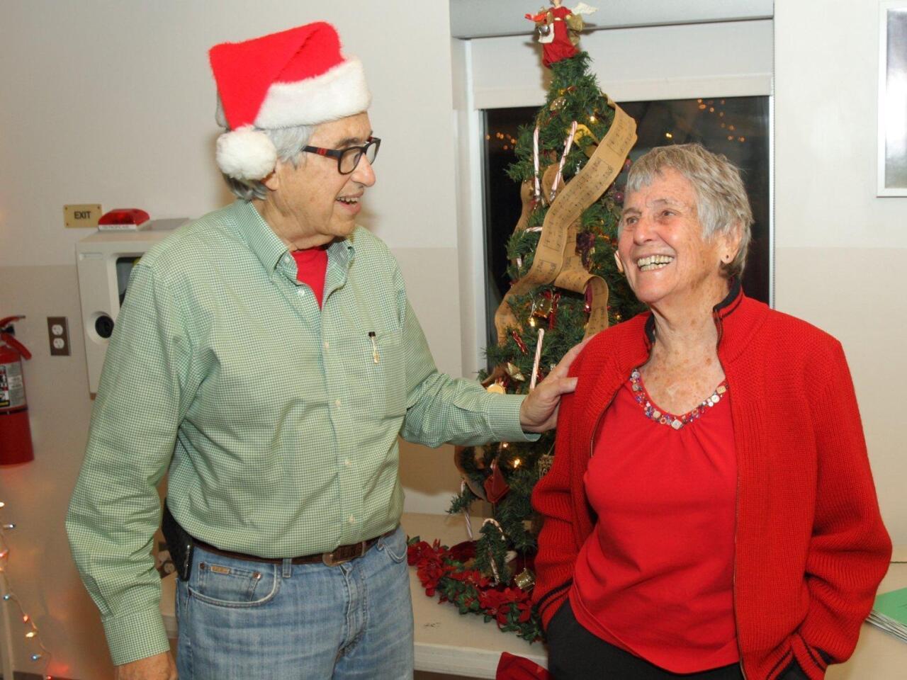 Dr. Ed Siegel with Lois Gobar Innis