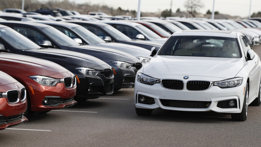 2019 BMW 3-Series sedans, 2019 BMW 3-series, retail sales, durable goods, auto