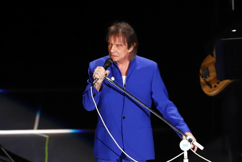 Roberto Carlos se presentó en el Auditorio Nacional, con su gira 'Emociones'.
