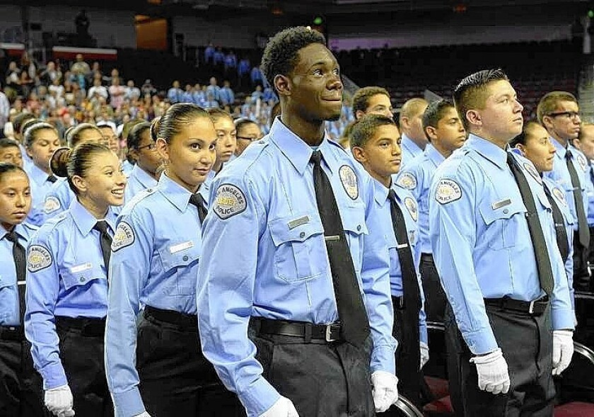 LAPD cadet graduation