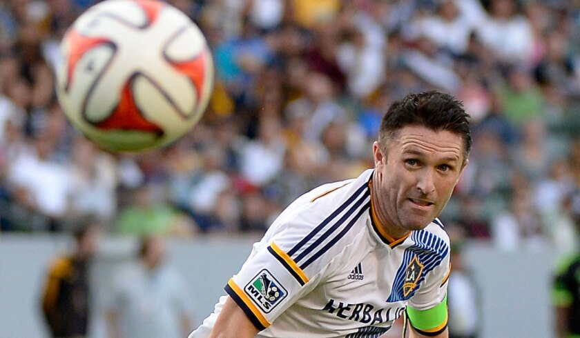 Galaxy's Robbie Keane had 19 goals and 14 assists this season.