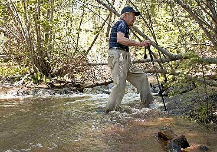 "After splashing through calf-deep water in the Santa Fe National Forest, Stewart Udall said, ""This is good wilderness. Any time you have to struggle a bit to cross a stream you've got good wilderness."" He may be the politician most responsible for America's legacy of protected public lands."