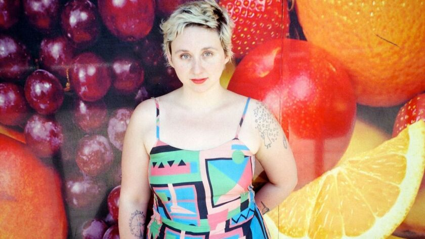 "Allison Crutchfield will release her debut album for Merge Records, ""Tourist in This Town,"" later this month."