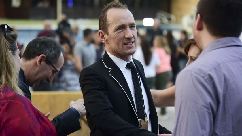 """""""Hamilton"""" producer Jeffrey Seller (photographed at the recent Puerto Rico premiere of that musical) will direct the """"Peter Pan""""-inspired musical """"Fly"""" in La Jolla Playhouse's 2019-20 season."""