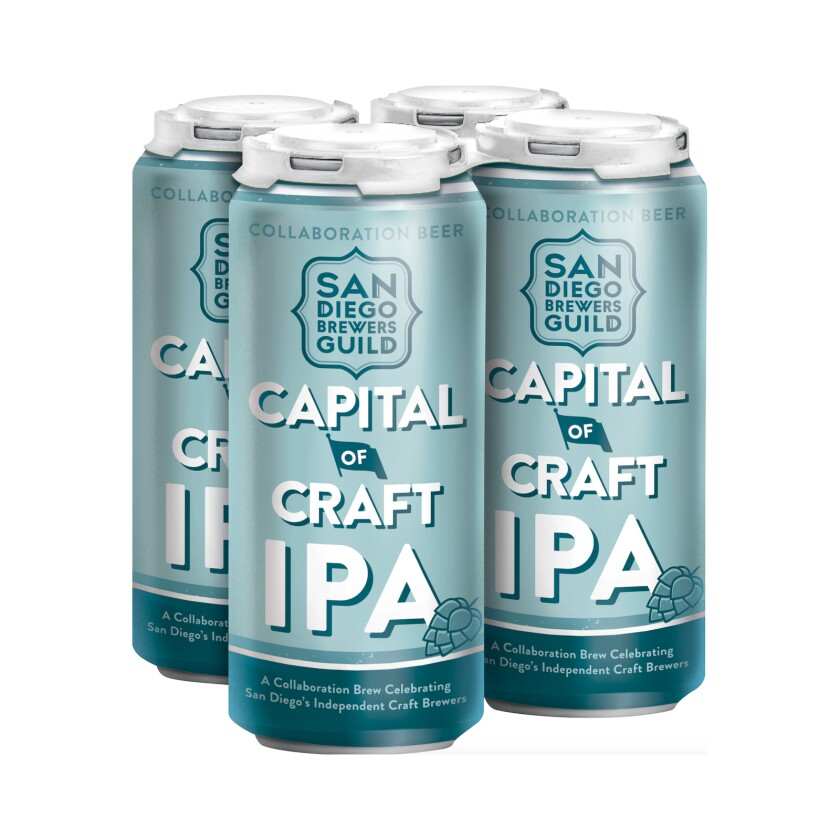 A photo of Capital of Craft IPA