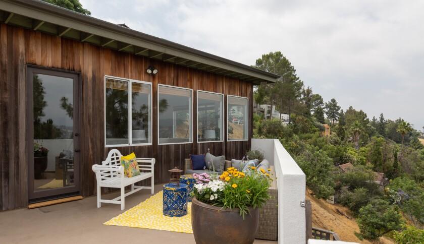 Jerry Stahl's Mount Washington home