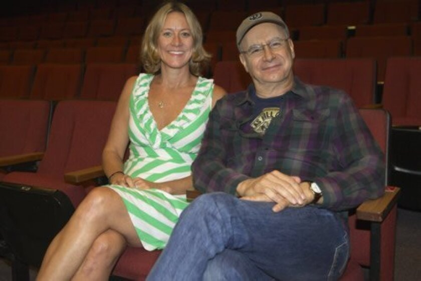 Choreographer Jill Gorrie collaborates with director Rick Simas on the musical 'Romance, Romance,' at North Coast Rep. Aaron Rumley