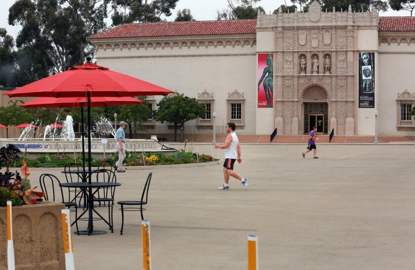 The shift to a pedestrian-only Plaza de Panama has resulted in some unintended consequences, including delivery access.