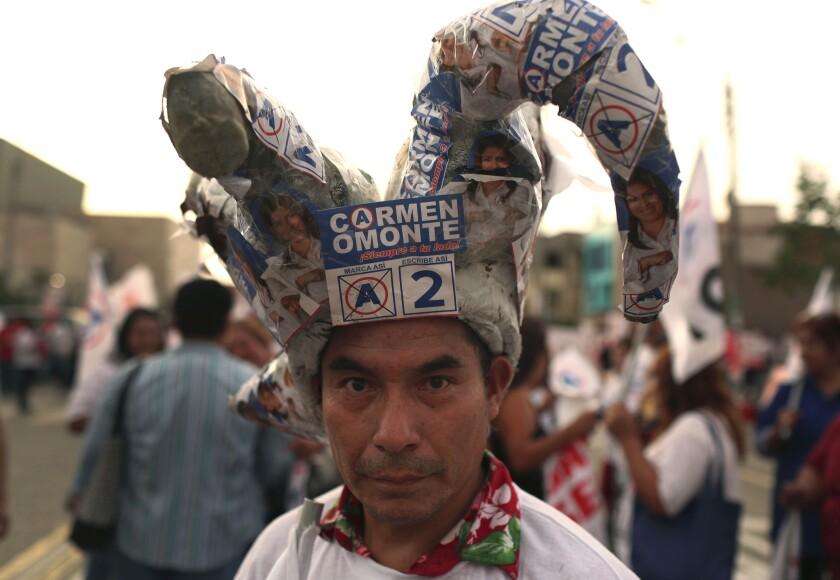 PERU-ELECCIONES LEGISLATIVAS