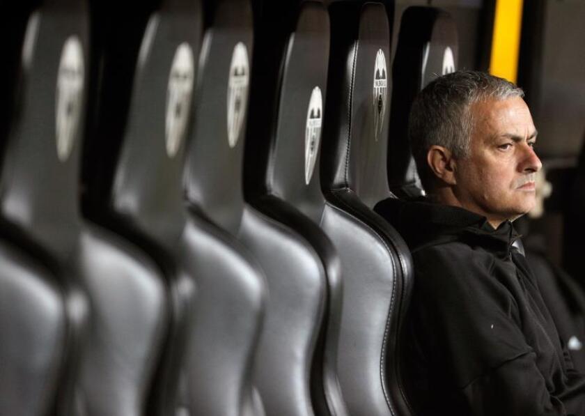 El exentrenador del Real Madrid Jose Mourinho. EFE/Archivo