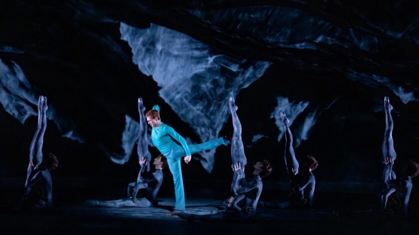 Edward Watson and artists of The Royal Ballet. Credit Cheryl Mann