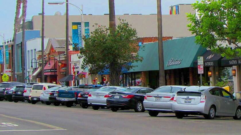 Girard Avenue is one of the main shopping, dining and retail areas in the Village of La Jolla.