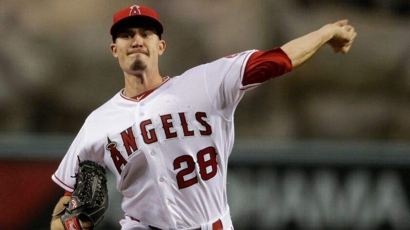 "Angels left-hander Andrew Heaney, 25, won't specify when he hopes to return. ""I'd like to let other people talk about it,"" he said. ""I have a goal in mind, but it's my goal, nobody else's."""