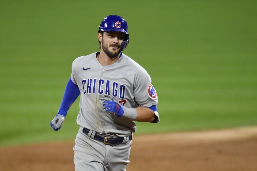 The Cubs' Kris Bryant