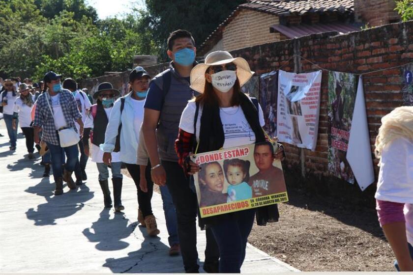 Integrantes de 62 colectivos del país comenzaron el lunes 21 de enero en el Cerro de los Timbres, Guerrero (México), la cuarta Brigada Nacional de Búsqueda de Personas Desaparecidas Guerrero 2019. EFE/Archivo