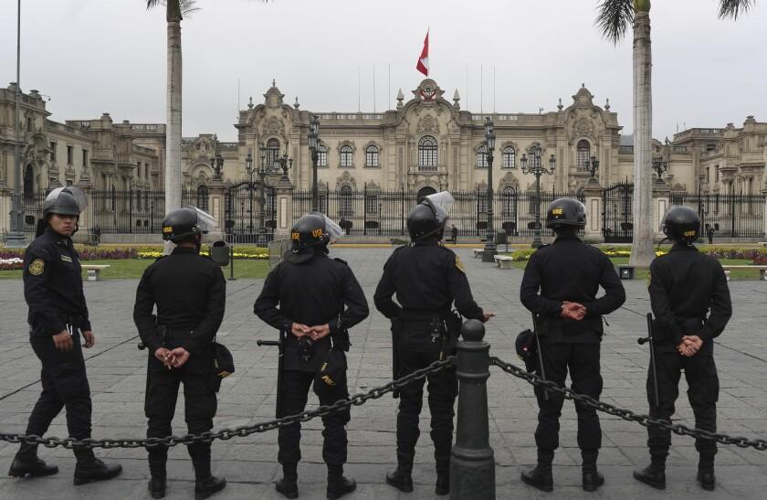 Peru Political Turmoil