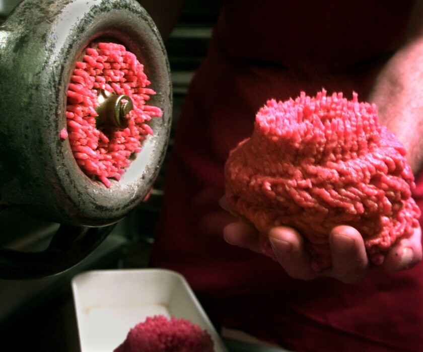 Confirmed cases of E. Coli have prompted a massive national ground beef recall.