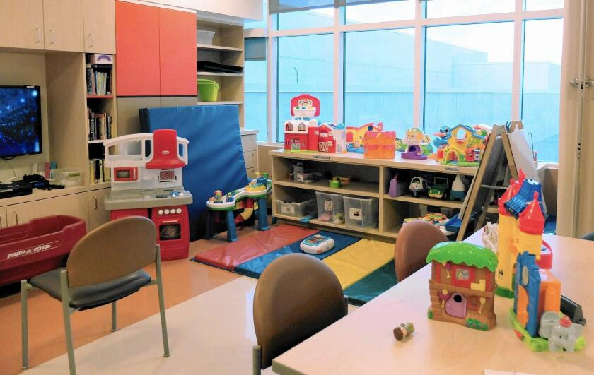 CHOC's new pediatric mental health facility will include a similar playroom where younger patients and their families can learn, relax and socialize in a comfortable, stress-free environment.