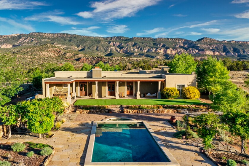 """""""Northern Exposure"""" director-producer Rob Thompson is asking $8.2 million for his 1,060-acre ranch in Coyote, New Mexico."""