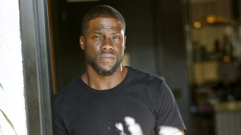 "HOLLYWOOD, CA., OCTOBER 10, 2016 -- Kevin Hart for his new movie, ""What Now?"" which is a feature fil"
