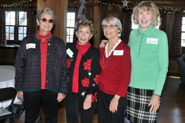 Alice Winn, Pat Jacoby, Liz Dernetz, Mary Ann Emerson
