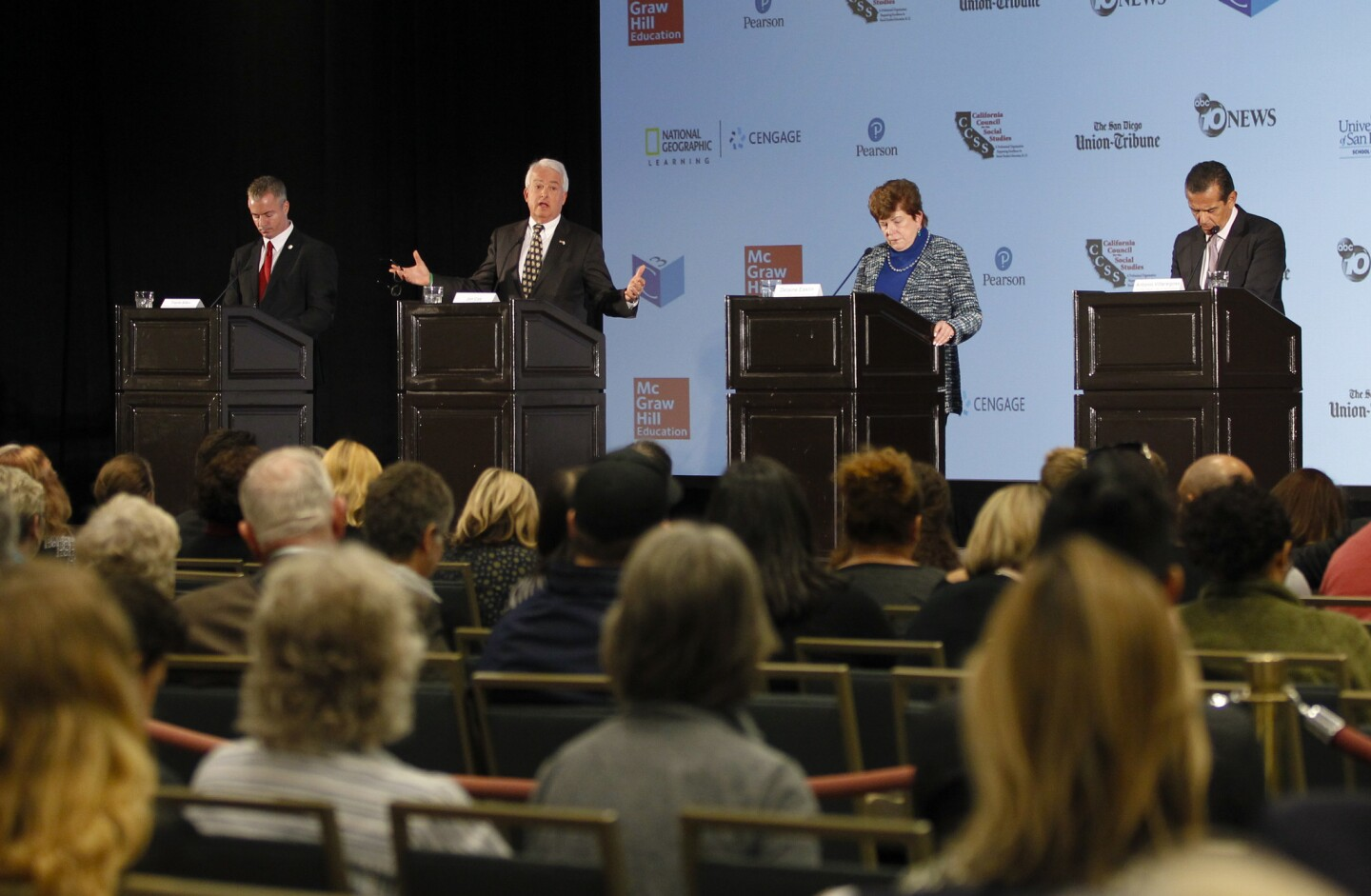 California Gubernatorial Candidates' Forum, hosted by the California Council for the Social Studies