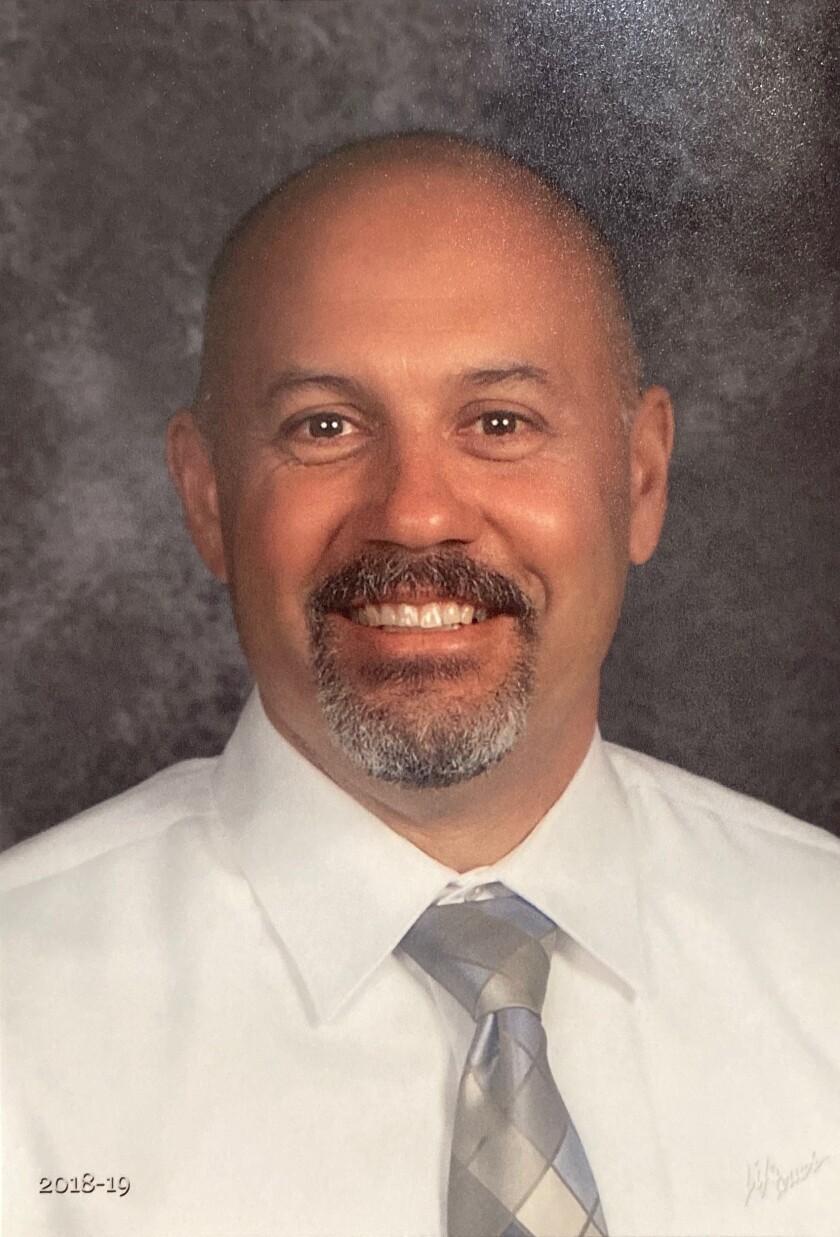 Jeff Luna has been named the new principal of Muirlands Middle School in La Jolla.