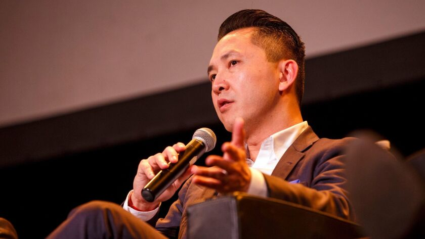 """Writer Viet Thanh Nguyen's new book is the short story collection """"The Refugees."""""""