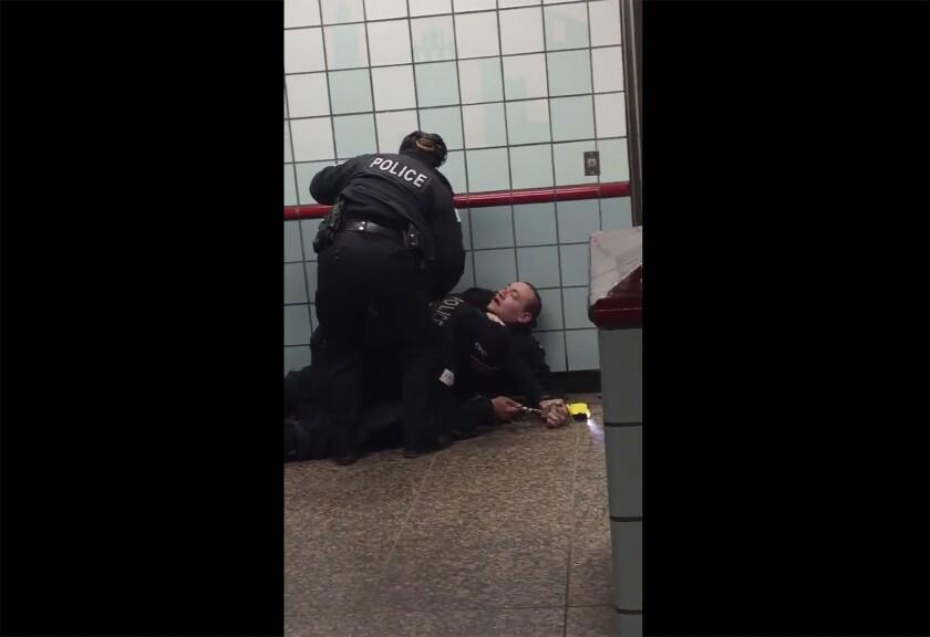 Chicago Police Transit Shooting