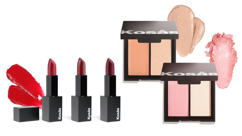 KOSAS cosmetics - Founded in 2015 by Sheena Yaitanes, the line has become a cult favorite among the
