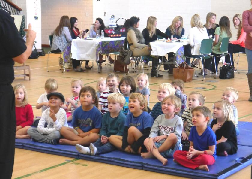 A free Moms & Tots Open House will be held at the Rancho Santa Fe Community Center on Wednesday, Sept. 21, from 10:30 a.m. to 12:30 p.m.