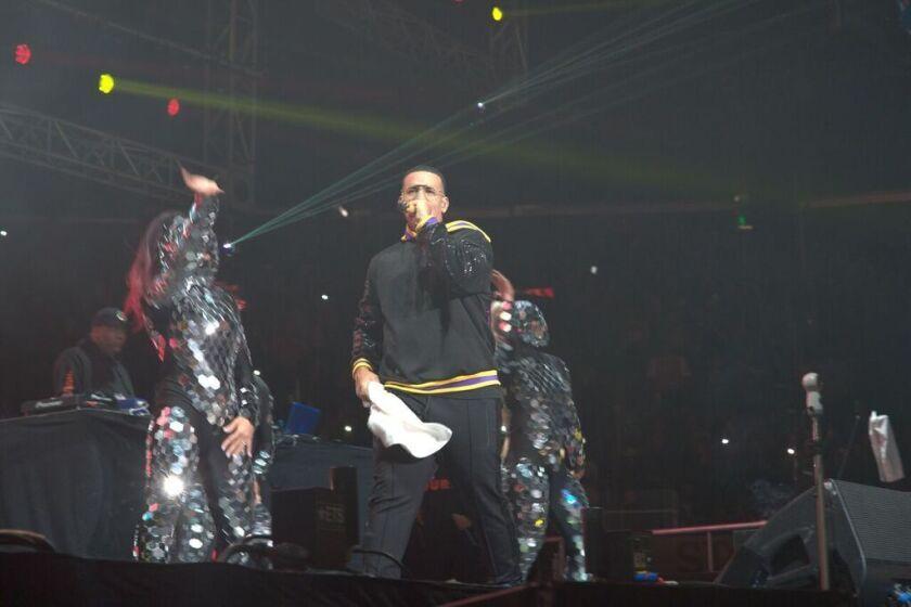 Daddy Yankee tuvo dos noches de presentación en el Calibash y fue el que encendió la velada del domingo.