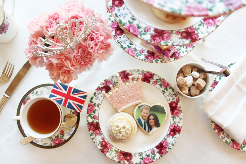 """The Langham Huntington hotel in Pasadena is serving its traditional """"Afternoon Tea with Wedgwoodâ€"""