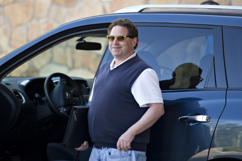Bobby Kotick, chief executive of Activision Blizzard Inc., arrives at the Allen & Co. Media and Technology Conference in Sun Valley, Idaho, earlier this month.