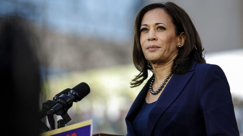 OAKLAND, CALIF. -- SUNDAY, JANUARY 27, 2019: Senator Kamala Harris kick starts her presidential camp