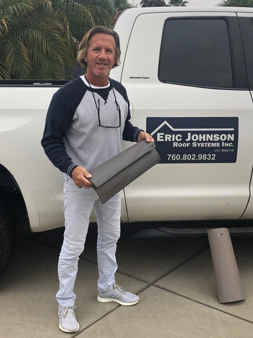 Owner Eric Johnson of Eric Johnson Roof Systems