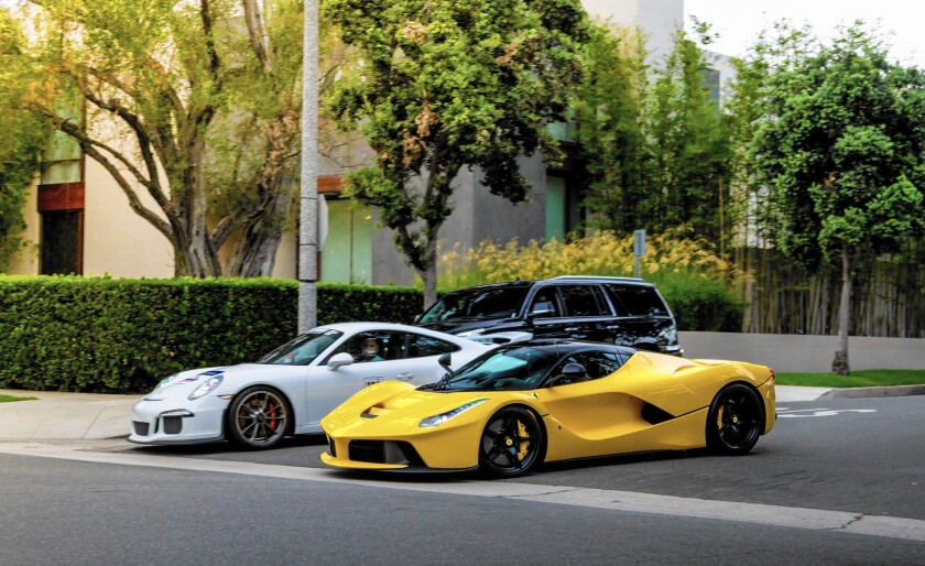 The Qatari sheikh who owned these exotic sports cars that sped down residential streets in Beverly Hills did not have diplomatic immunity, police say. But he and the cars are gone.