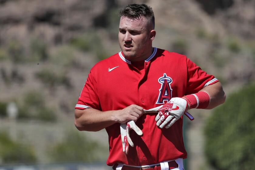 Mariners Angels Spring Baseball