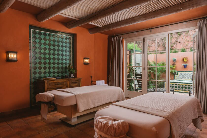 Rancho Valencia Spa recently completed a renovation.