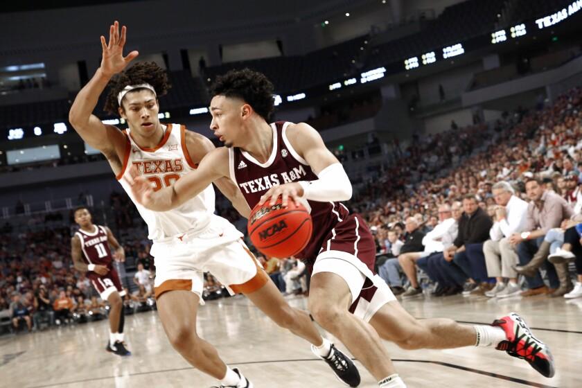 Texas Texas A M Basketball