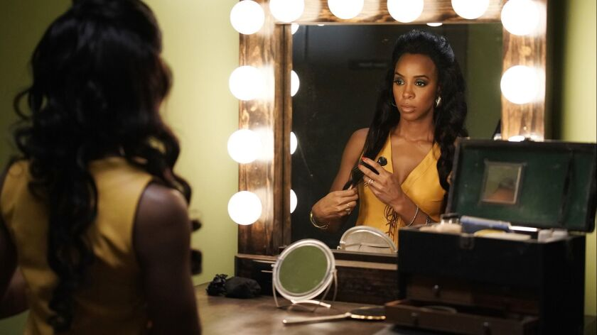 """Still of Kelly Rowland as Gladys Knight from BET's """"American Soul"""" episode 102. ** OUTS - ELSENT, FP"""